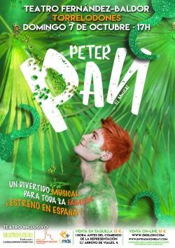 TEATRO INCLUSIVO. Peter Pan, El Musical.
